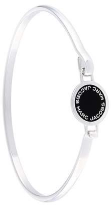 Marc Jacobs enamel logo disk bracelet