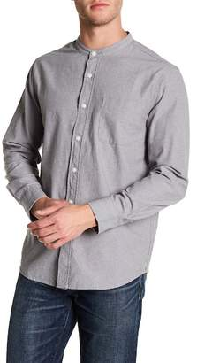 Joe Fresh Mock Collar Standard Fit Shirt