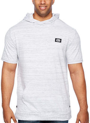 Ecko Unlimited Unltd Short Sleeve French Terry Hoodie-Big and Tall