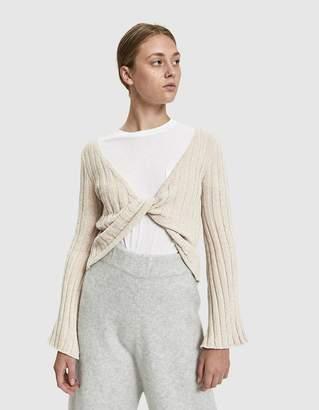 d49e935c8a Stelen Emily Twist Front Sweater