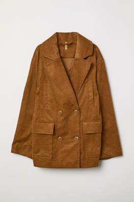 H&M Cotton Corduroy Jacket - Beige