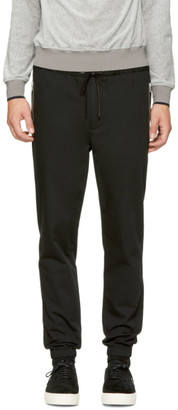 3.1 Phillip Lim Black Classic Side Zip Track Trousers $350 thestylecure.com