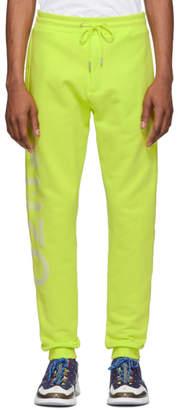 Kenzo Yellow Logo Lounge Pants