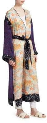 Elizabeth and James Shawna Floral-Print Kimono