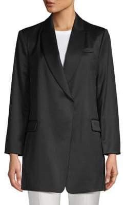 Brunello Cucinelli Classic Snap-Front Blazer