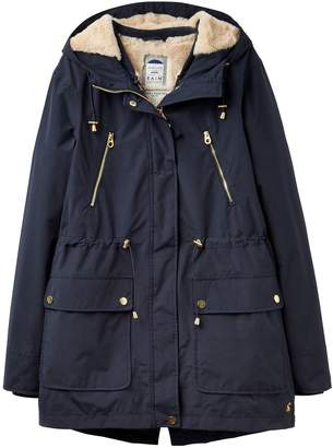 Next Womens Joules Navy 3 In 1 Waterproof Parka