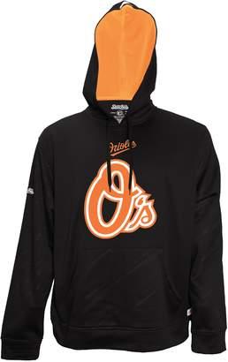 Stitches Men's Baltimore Orioles Embossed Performance Fleece Hoodie