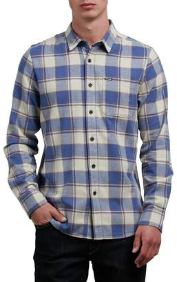 Volcom Caden Long-Sleeve Flannel Shirt - Men's