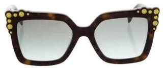 Fendi Can Embellished Sunglasses