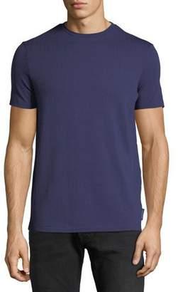 Emporio Armani Men's Crewneck Short-Sleeve Chevron-Print T-Shirt
