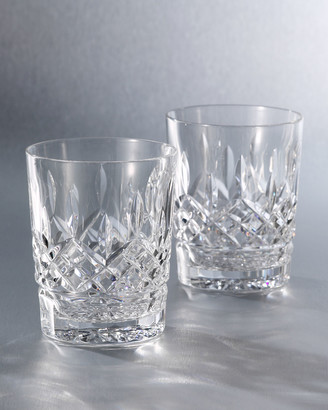 """Waterford Crystal """"Lismore"""" Crystal Double Old-Fashioned"""
