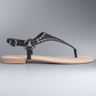 Simply Vera Vera Wang Stella Women's Sandals $39.99 thestylecure.com