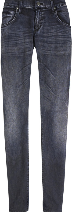 Citizens of Humanity Edge mid-rise skinny slouch jeans