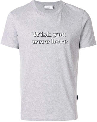 Ami Alexandre Mattiussi Wish You Were Here T-shirt