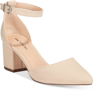 Call It Spring Trivio Two-Piece Block-Heel Pumps $49 thestylecure.com