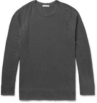 James Perse Loopback Supima Cotton-Jersey Sweatshirt $135 thestylecure.com