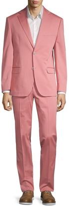 Michael Kors 2-Piece Slim Fit Stretch Cotton Suit