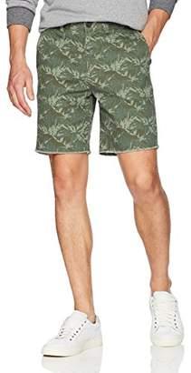 Michael Bastian Men's Flat Front Cut Off Shorts
