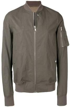 Rick Owens zip-up bomber jacket