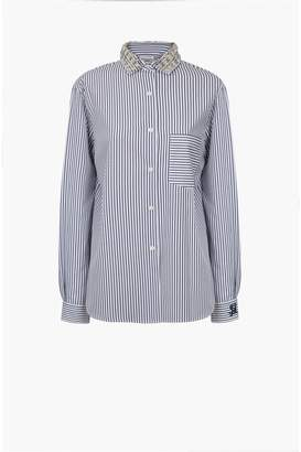Sonia Rykiel Striped Poplin Shirt