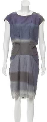 Brunello Cucinelli Ombré Knee-Length Dress