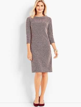 Talbots Audrey Tricolor Boucle Shift Dress