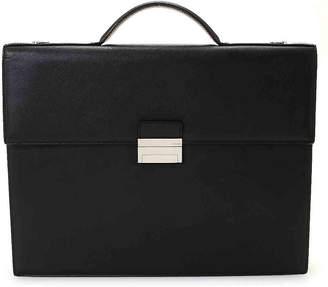 Fendi Vintage Luxury Leather Business Bag - Women's