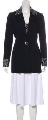 St. John Embellished Long Sleeve Jacket