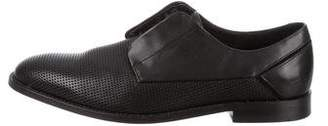 Uri Minkoff Perforated Leather Derby Shoes