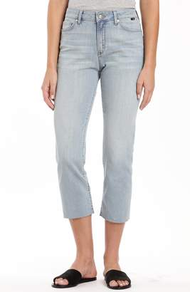 Mavi Jeans Niki Raw Hem Crop Jeans