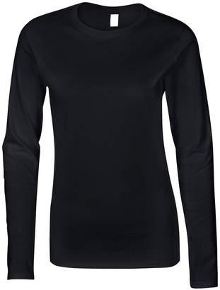Gildan SoftstyleTM Ladies Ringspun Long Sleeve T-Shirt S