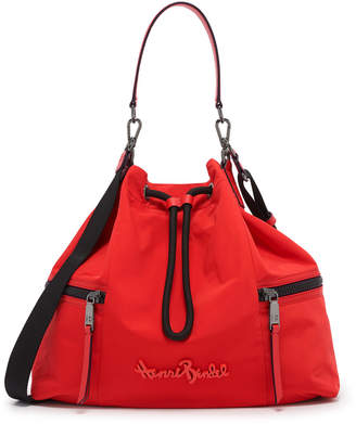 Henri Bendel Studio Nylon Drawstring Bag
