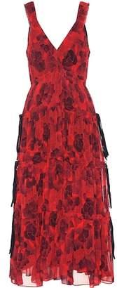 Proenza Schouler Silk crêpe chiffon dress