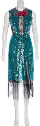 Gucci 2016 Sequined Dress