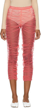 Molly Goddard Pink Eric Leggings