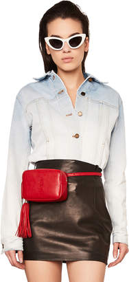 Saint Laurent Ombre Denim Jacket