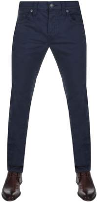 True Religion Rocco No Flap Twill Trousers Blue