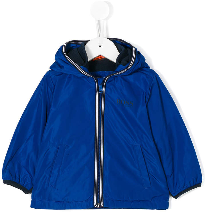 Boss Kids front logo jacket
