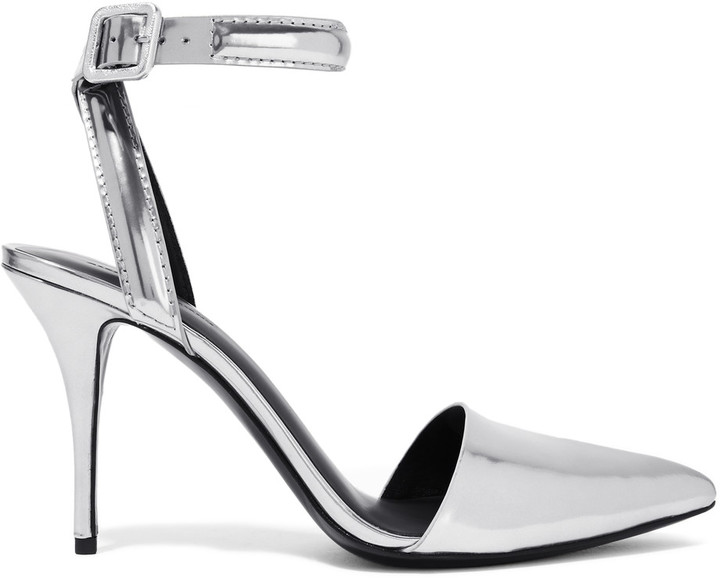 Alexander Wang Alexander Wang Lovisa metallic leather pumps