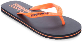 Superdry Navy & Orange Flip Flops