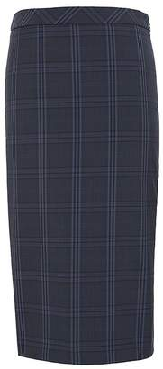 Banana Republic Machine-Washable Italian Wool Blend Pencil Skirt with Side Slit