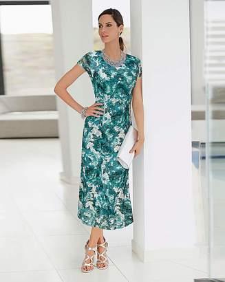 Together Lace Midi Dress