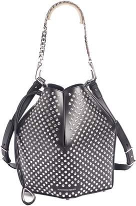 Alexander McQueen Studded Leather Bucket Bag
