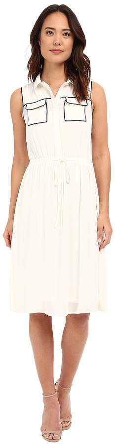 brigitte bailey kahla accent pocket dress