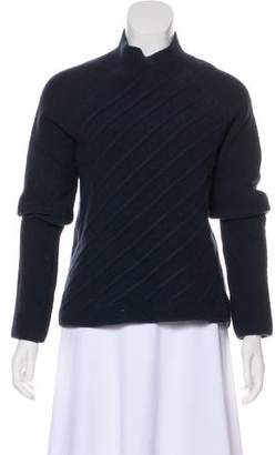 Calvin Klein Collection Merino-Blend Mock Neck Sweater w/ Tags