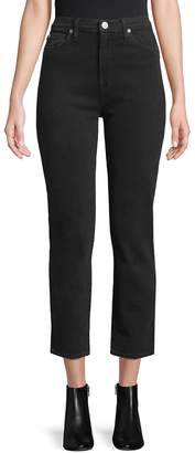 Hudson Women's High Rise Straigh Leg Ambiance Jeans - Ambiance, Size 26 (2-4)