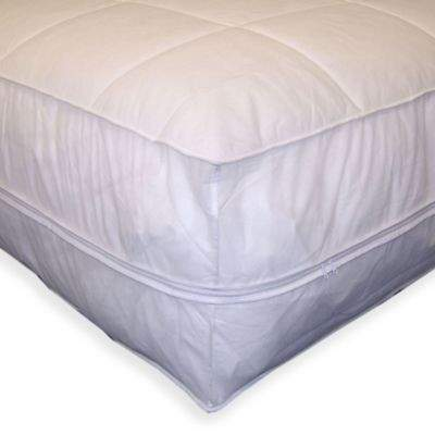 Everfresh All-In-One Twin Mattress Pad & Protector in White