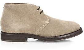 Brunello Cucinelli Men's Lace-Up Suede Chukka Boot