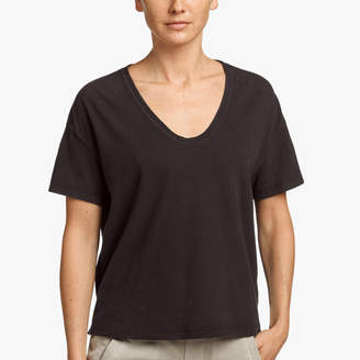 James Perse SUEDED JERSEY RELAXED TEE