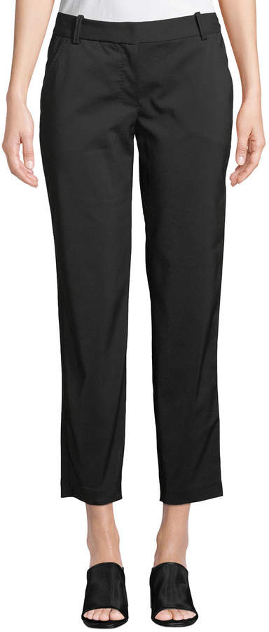Leon Max Cropped Stretch-Twill Trouser Pants